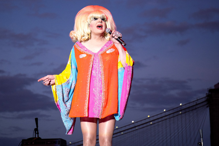 Lady Bunny at Wigstock on Sept. 1, 2018 in New York City.