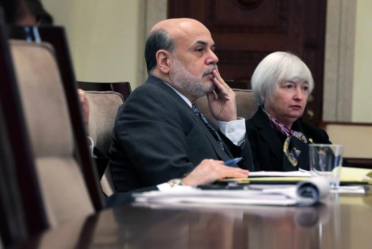 Image: Ben Bernanke and Janet Yellen