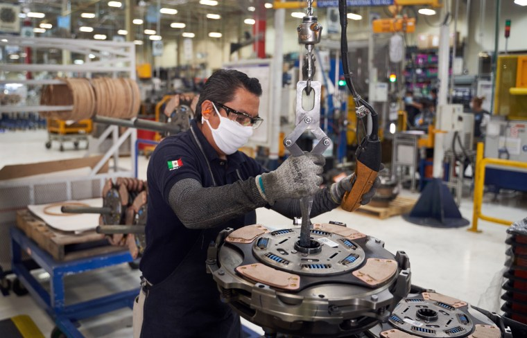 Image: Mexico auto plant
