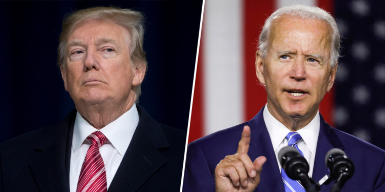 Image: Donald Trump, Joe Biden