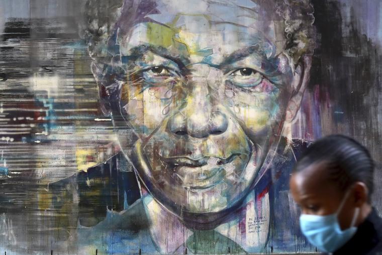 Image: Nelson Mandela mural
