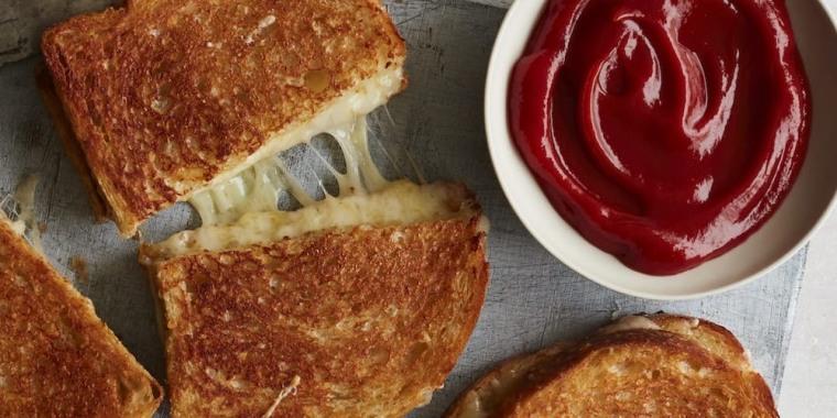 Gaby Dalkin's Cheesiest Grilled Cheese Sandwich