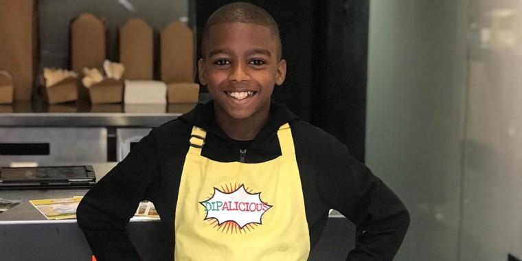 Omari McQueen has been cooking since he was 7 years old.