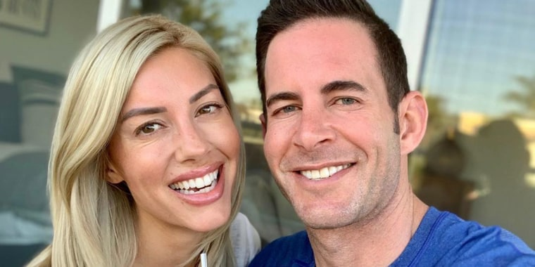 Heather Rae Young and Tarek El Moussa have been dating for one year.
