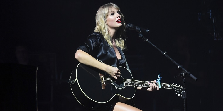Taylor Swift City of Lover Concert at L'Olympia