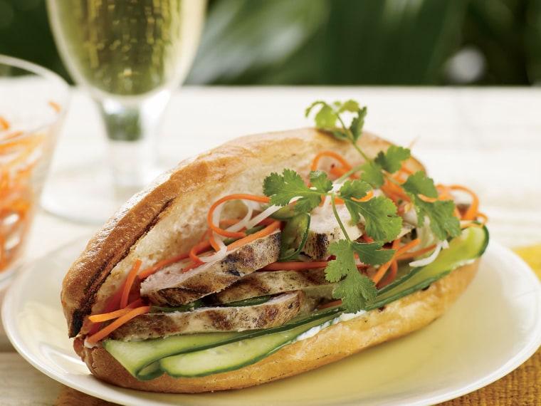 Hawa Hassan's Xawaash-Spiced Chicken Sandwich