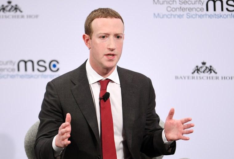 Image: Mark Zuckerberg, Munich Security Conference
