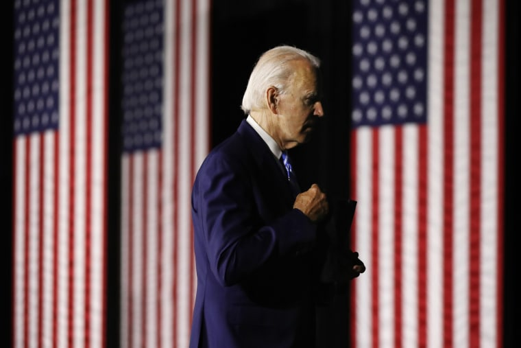 "Image: Democratic Presidential Candidate Joe Biden Speaks On His \""Build Back Better\"" Clean Energy Economic Plan"