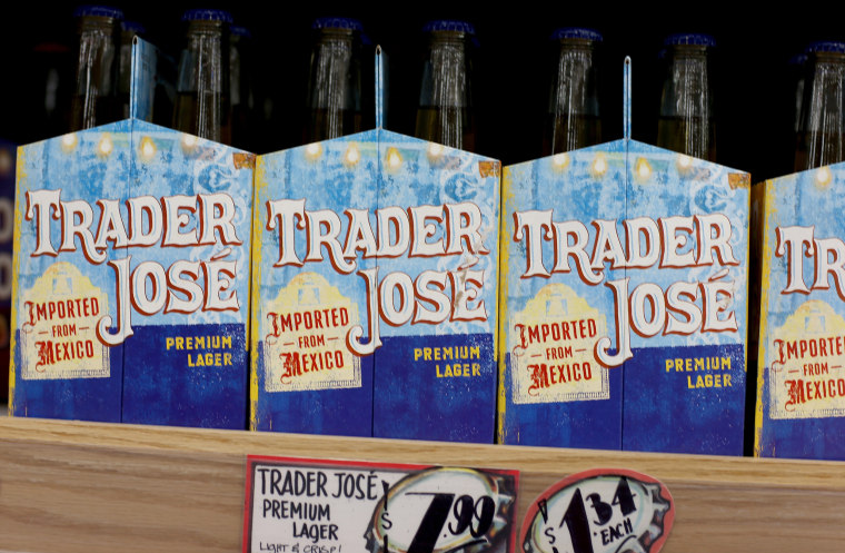 Image: Trader Jose beer at a Trader Joe's store in Pinecrest, Fla.