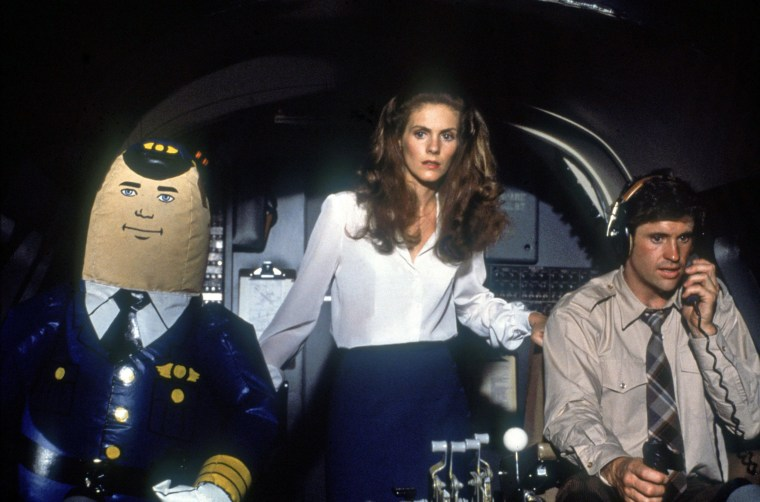 Image: HAGERTY,HAYS, AIRPLANE!, 1980