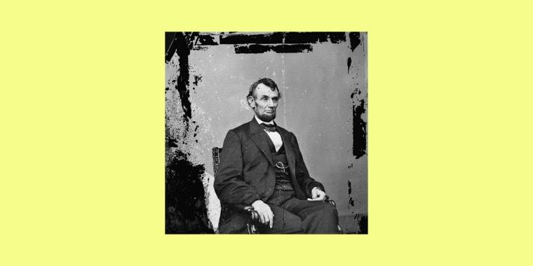 President Abraham Lincoln in Washington on Feb. 9, 1864.