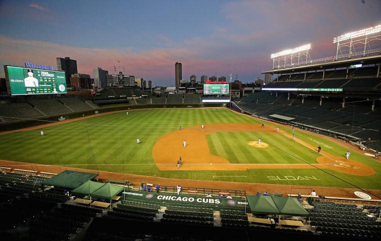 Image: Chicago White Sox v Chicago Cubs