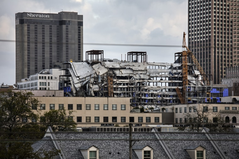Hard Rock Hotel Collapsed During Construction