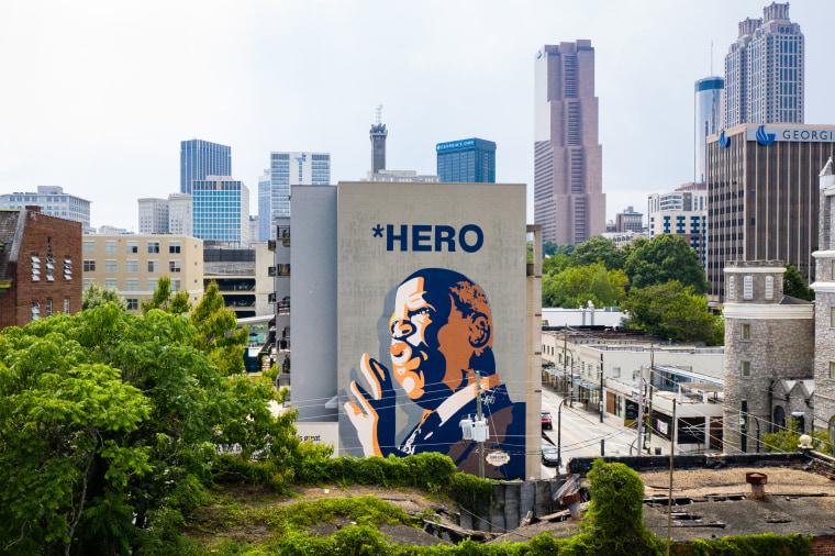 Image: John Lewis mural Atlanta