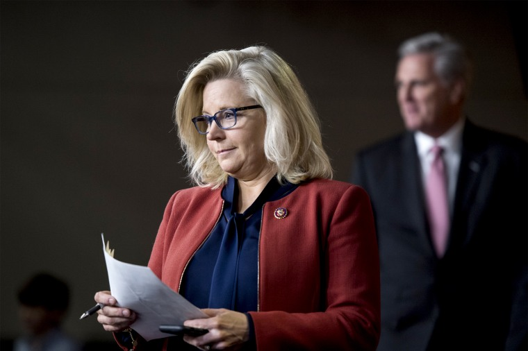 Republican Conference Chair Liz Cheney