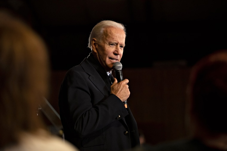 Former Vice President Joe Biden Holds Iowa Campaign Events