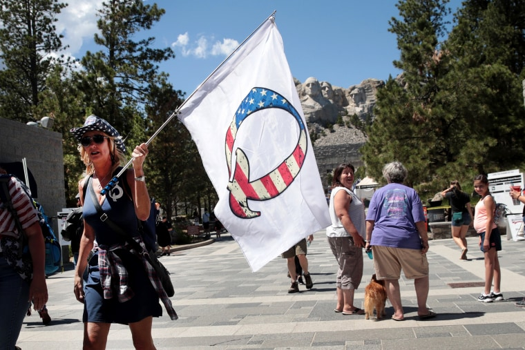 Image: Mount Rushmore National Memorial And Keystone, South Dakota Prepare To Host President Trump