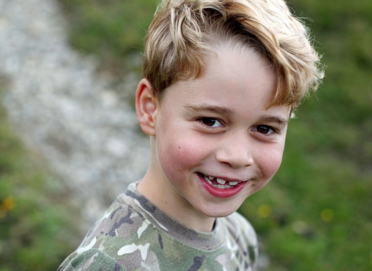 Image: Britain's Prince George of Cambridge, released to mark the Prince's seventh birthday on July 22.