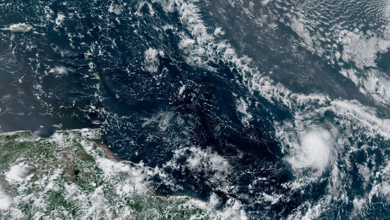 Image: CARIBBEAN-WEATHER