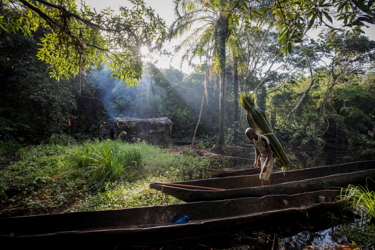 The Wider Image: In Congo, part-time hunters boost income with bushmeat