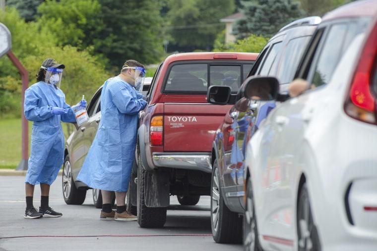 Image: Coronavirus testing, Ohio