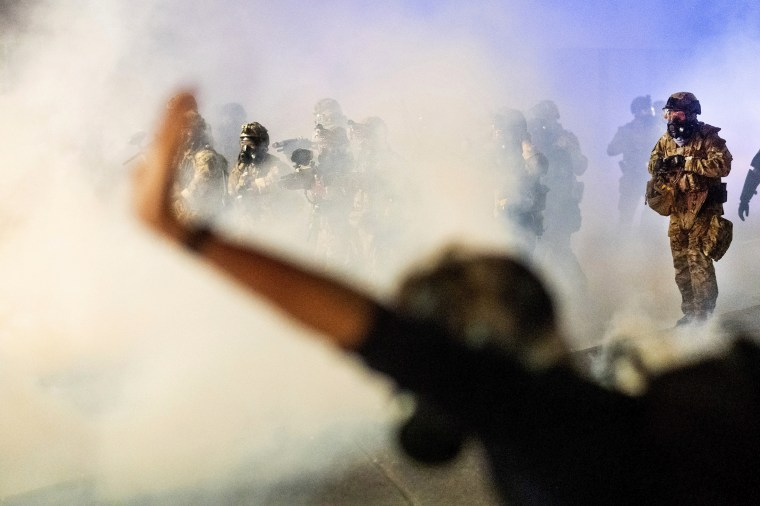 Image: Portland protests