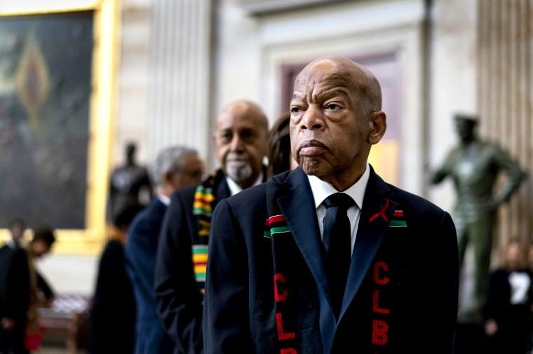 Image: FILE: U.S Rep. John Lewis Dies At 80