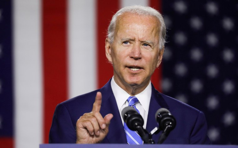 Image: FILE PHOTO: Democratic U.S. presidential candidate Biden speaks at campaign event in Wilmington, Delaware