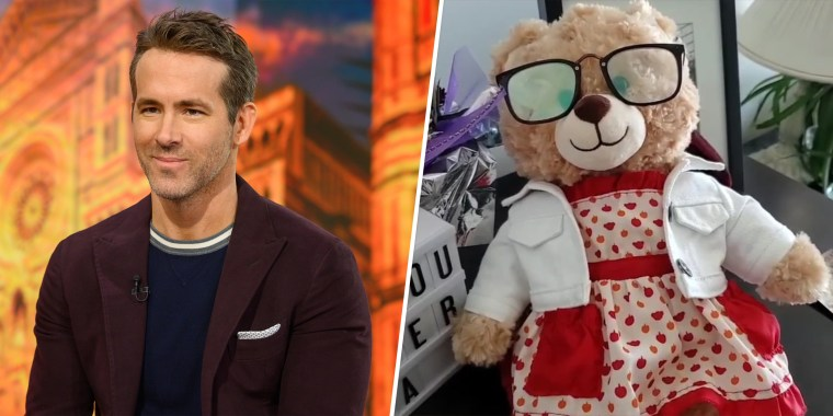 """Deadpool"" star Ryan Reynolds is offering a $5,000 reward for the return of a stolen teddy bear that has irreplaceable value for a grieving daughter."