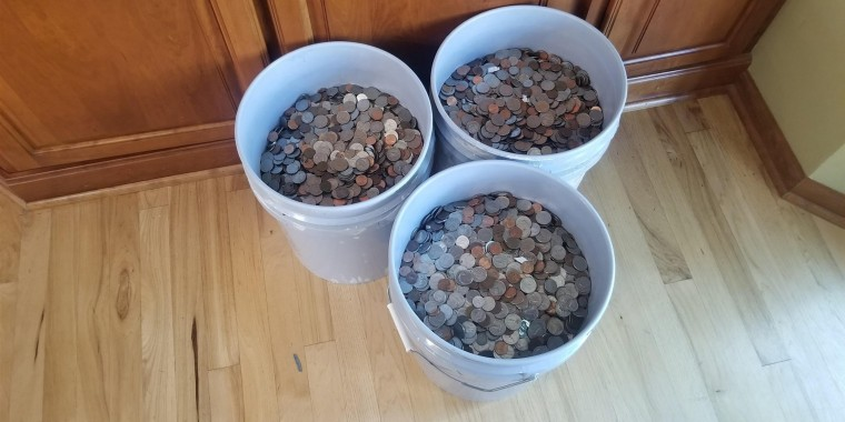 Jim Holton has been saving coins ever since his son, Cameron, was born 20 years ago.