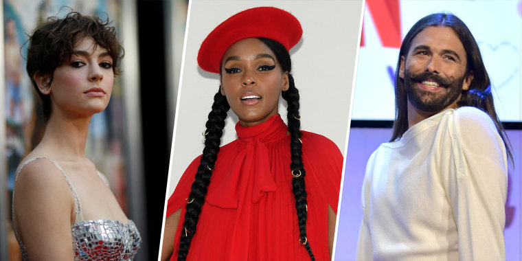 "Atypical"" actor Brigette Lundy-Paine, actor and singer Janelle Monáe and ""Queer Eye"" star Jonathan Van Ness all identify as nonbinary."
