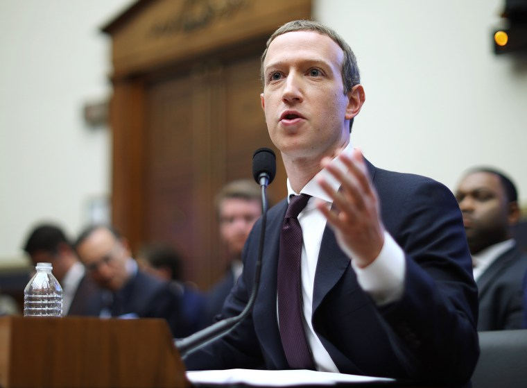 Image: Facebook CEO Mark Zuckerberg Testifies Before The House Financial Services Committee