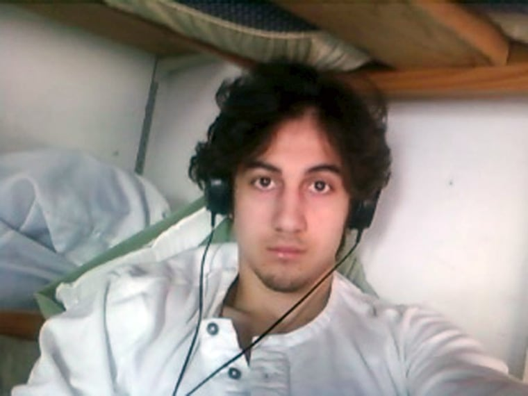 Image: File photo of Boston bombing suspect Dzhokhar Tsarnaev in this handout photo presented as evidence by the U.S. Attorney's Office in Boston