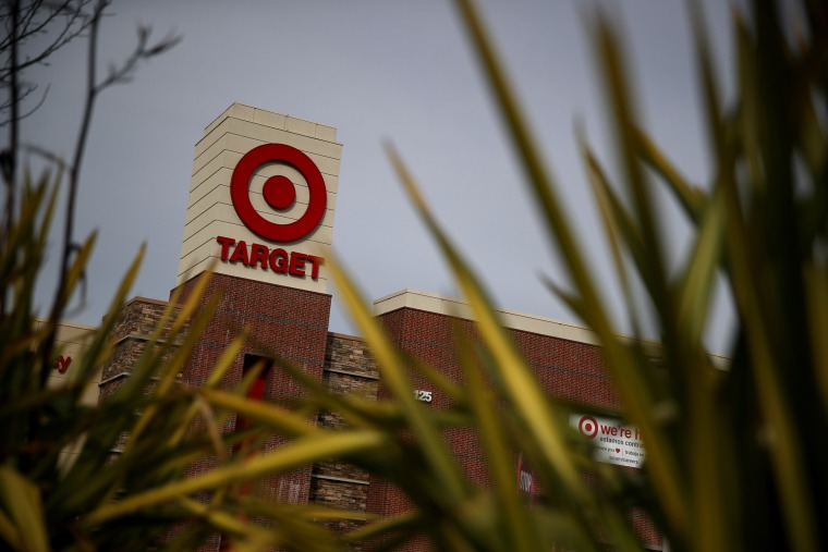 A sign is posted on the exterior of a Target store in San Rafael, Calif., on Jan. 15, 2020.