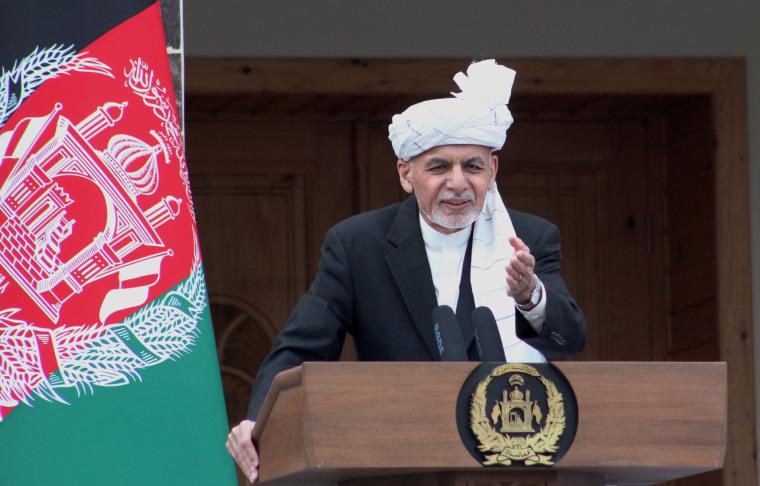 Image: President Ashraf Ghani