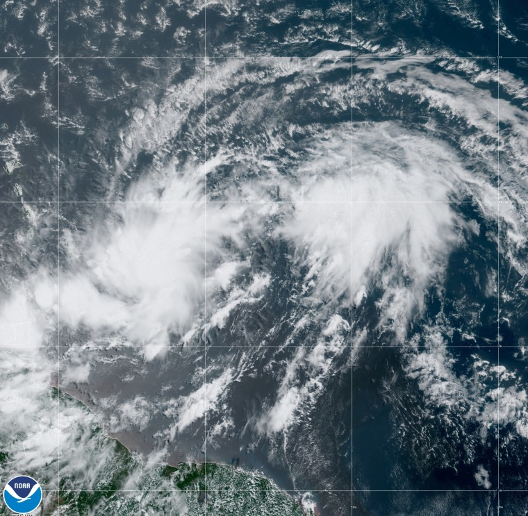 Potential Tropical Cyclone 9.