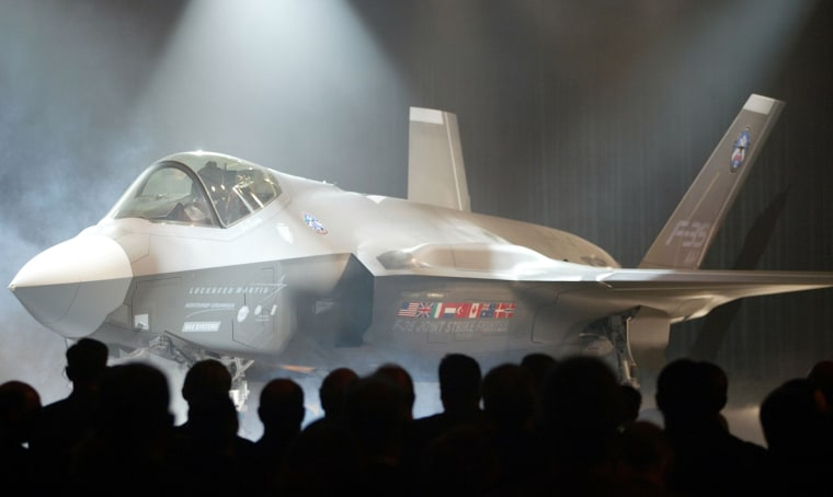 Image: Lockheed Martin Corp.'s F-35 jet is unveiled in Fort Worth,