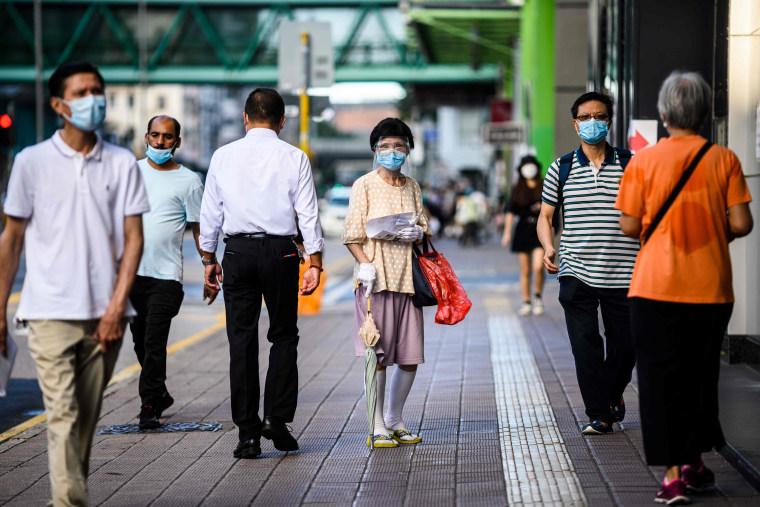Image: HONG KONG-HEALTH-VIRUS