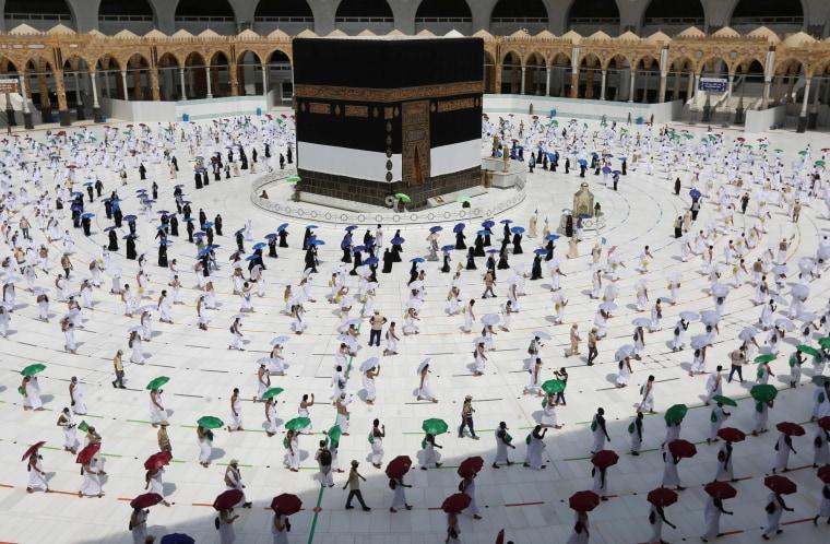 Image: SAUDI-RELIGION-HAJJ-HEALTH-VIRUS