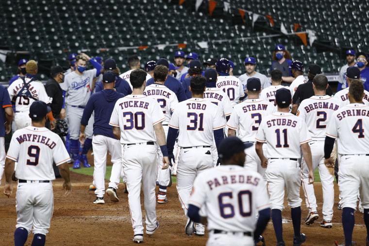 Image: Los Angeles Dodgers v Houston Astros
