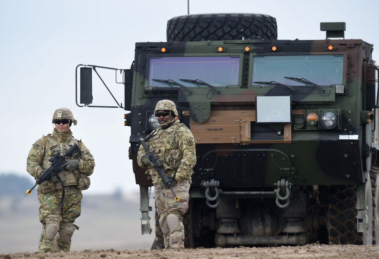 Image: GERMANY-US-EUROPE-DEFENCE