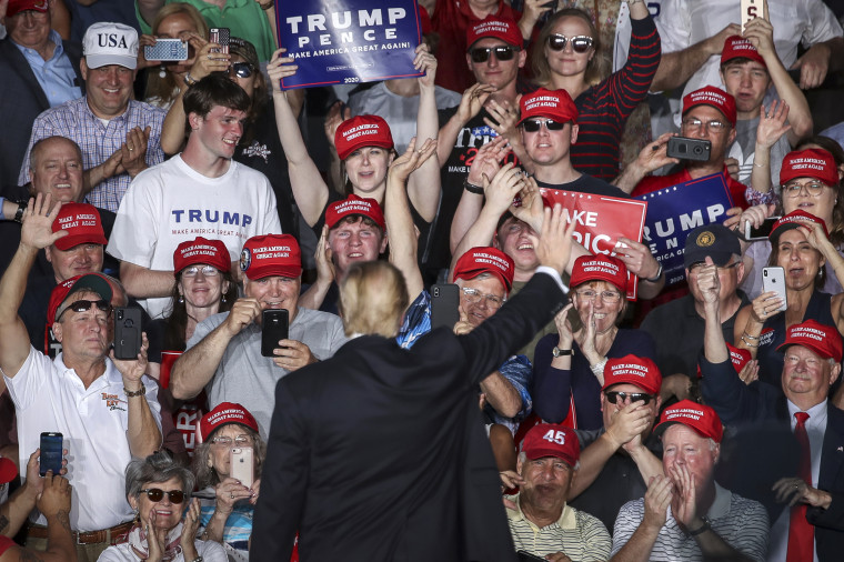 "Image: Donald Trump Holds ""MAGA"" Rally In Central Pennsylvania"