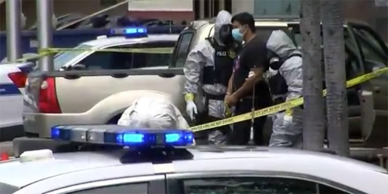 Image: Hawaii mand and son breaking quarantine