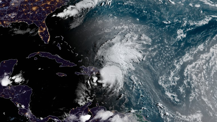 Image: Tropical Storm Isaias