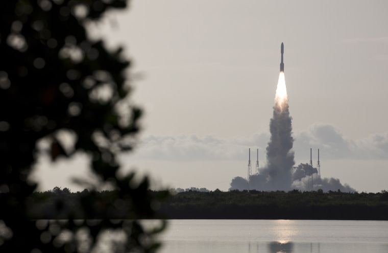NASA successfully launched a new rover to look for ancient life on Mars on Thursday morning.