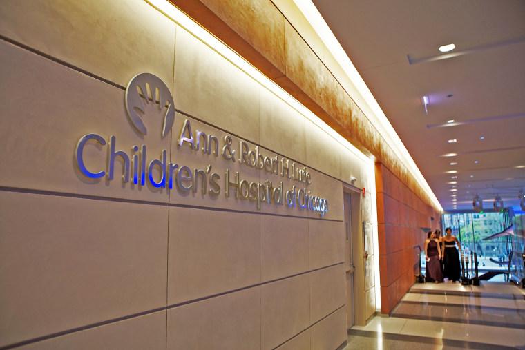 Ann & Robert H. Lurie Children's Hospital of Chicago.
