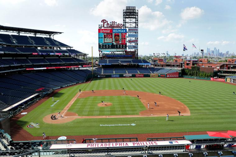 Image: Miami Marlins v Philadelphia Phillies
