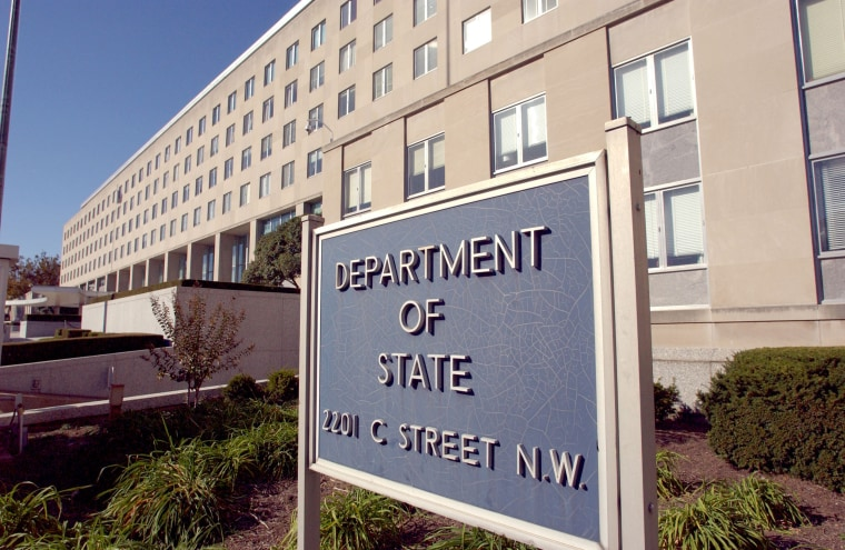 Image: State Department exterior