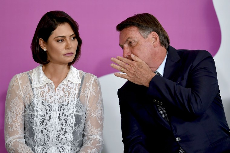 Image: Jair and Michelle Bolsonaro
