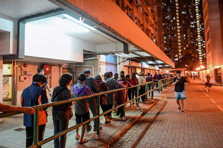Image: FILES-HONG KONG-CHINA-POLITICS-VOTE